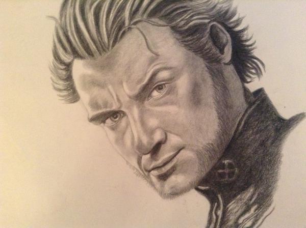 Hugh Jackman by chalkygirl
